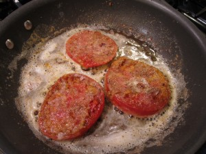 fried tomatoes